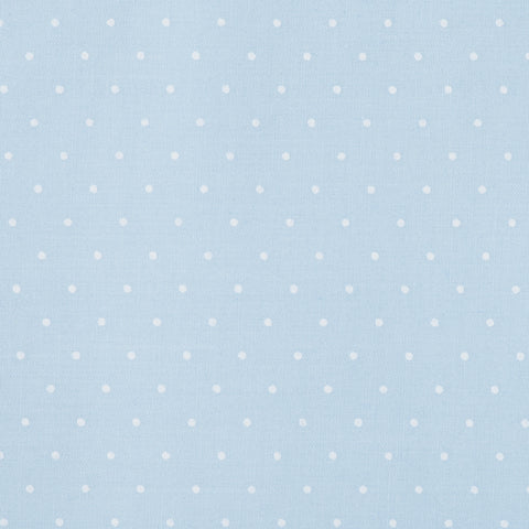 Pick N Mix: Pastel Small Polka Dot Blue - Hot Pink Haberdashery
