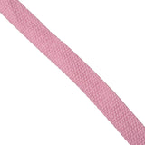 25mm 100% brushed cotton webbing for bag making in pink - Hot Pink Haberdashery