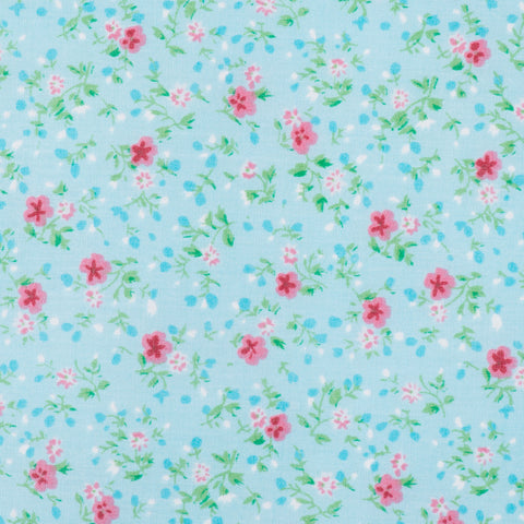 Pink Flower Turquoise