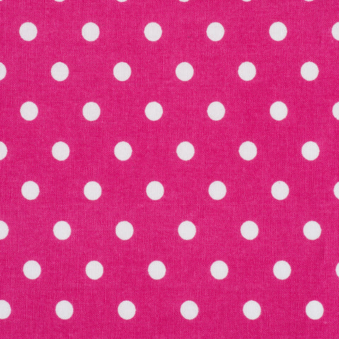Pick N Mix: Cotton Polka Dot Cerise