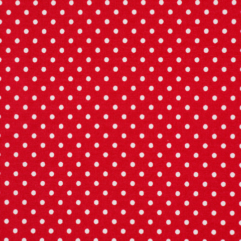 Pick N Mix: Cotton Polka Dot Red