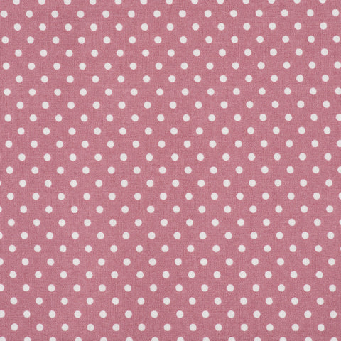 Pick N Mix: Cotton Polka Dot Rose - Hot Pink Haberdashery