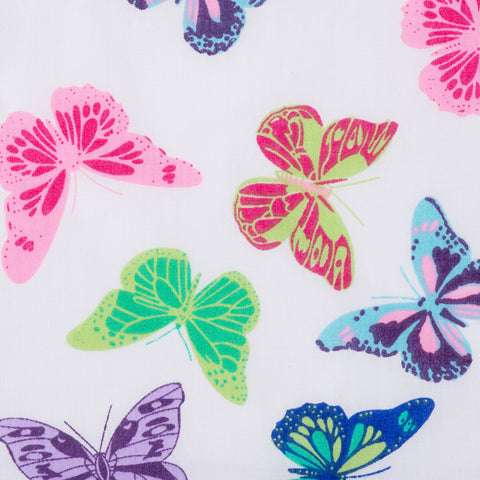 Butterflys Purple - Hot Pink Haberdashery