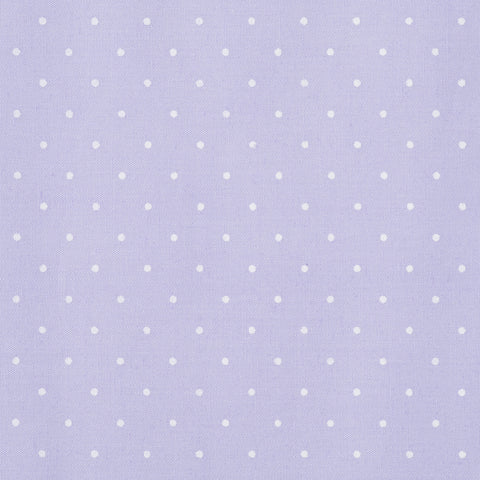 Small Polka Dot Purple - Hot Pink Haberdashery