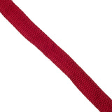 25mm 100% brushed cotton webbing for bag making in red - Hot Pink Haberdashery