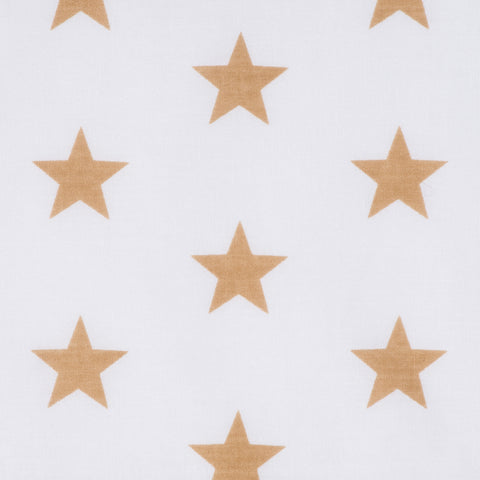 Stars in Gold - Hot Pink Haberdashery