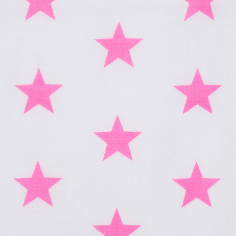 Stars in Neon Pink