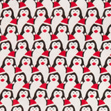 Santa's Penguins - Polycotton prints
