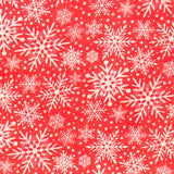 Christmas Snowflakes - Polycotton prints