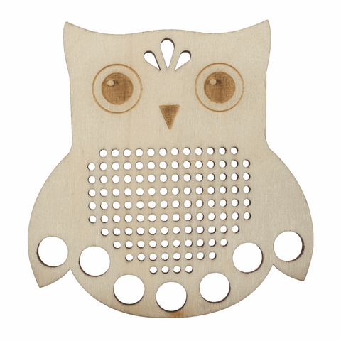 Embroidery Floss Holder - Owl