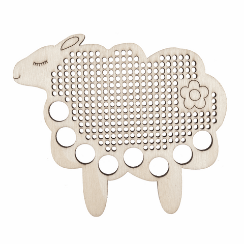 Embroidery Floss Holder - Sheep