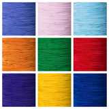 1mm Round Coloured Crafting Elastic for Beading, Jewellery, Crafts.