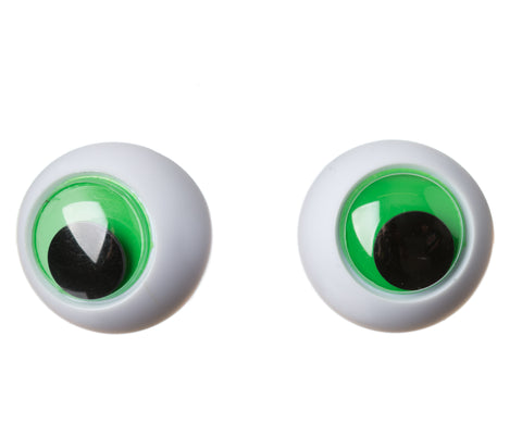 Soft Toy / Teddy Bear Eyes - Frog Eyes