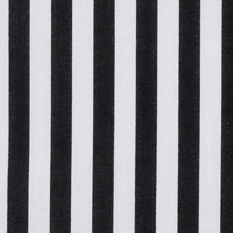 Medium Stripe in Black & White