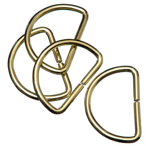 Brass D Rings for Bag Making