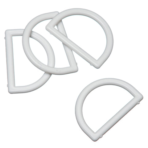 D Rings in Plastic 19mm & 25mm
