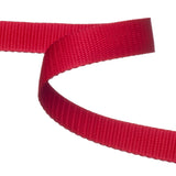 Red Polypropylene Webbing  / Bag Strapping