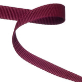 Burgundy Polypropylene Webbing  / Bag Strapping