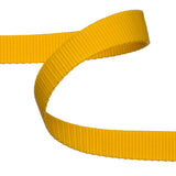 Yellow Polypropylene Webbing  / Bag Strapping