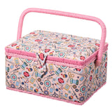 Sewing Basket - Pink Haberdashery Design - Hot Pink Haberdashery  - 1