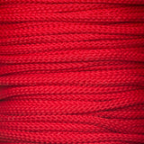 4mm drawstring lacing cord in red