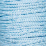 4mm drawstring piping cord in pale blue