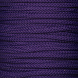 Purple 4mm drawstring cord for bag making and piping