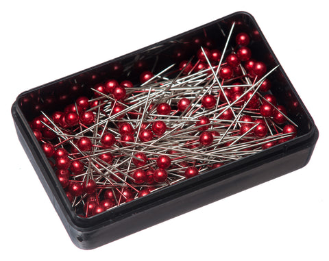 38mm Craft Pins - Red