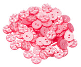 Star Buttons -11 Colours - 3 Sizes - Hot Pink Haberdashery  - 8