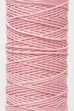 3mm drawstring cord in pink - Hot Pink Haberdashery