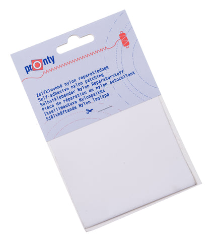 Pronty Adhesive Repair Patch for Synthetic Fabrics in White