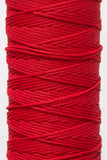 3mm drawstring cord in red - Hot Pink Haberdashery