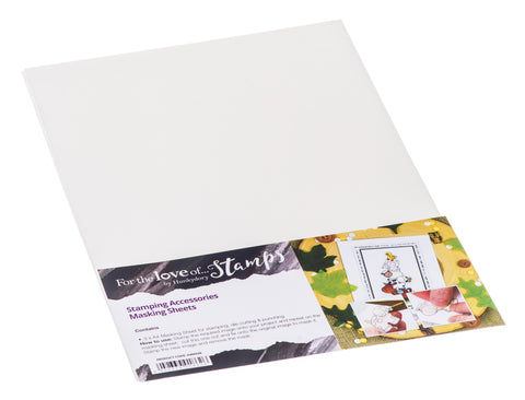 Masking Paper Sheets by Hunkydory for punching, stamping and die cutting