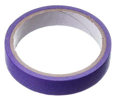 LOW TACK Purple Masking / Craft Tape - 10m Roll