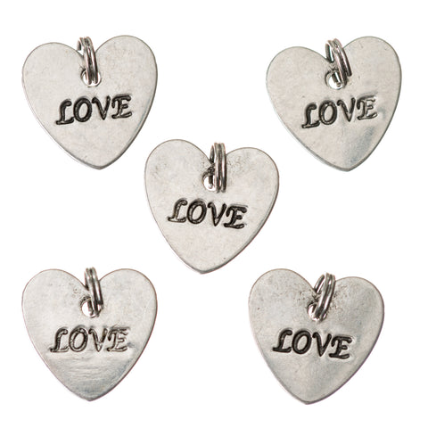 Love Heart Charm / Pendant