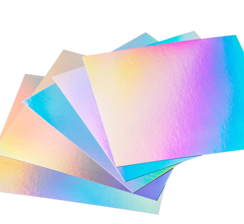 Hunkydory Mirri Rainbow Shimmer Card - 10 sheets 6