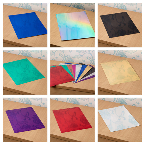 High Reflective Quality Mirror Metallic A4 Luxury Card X 8 Sheets 270gsm