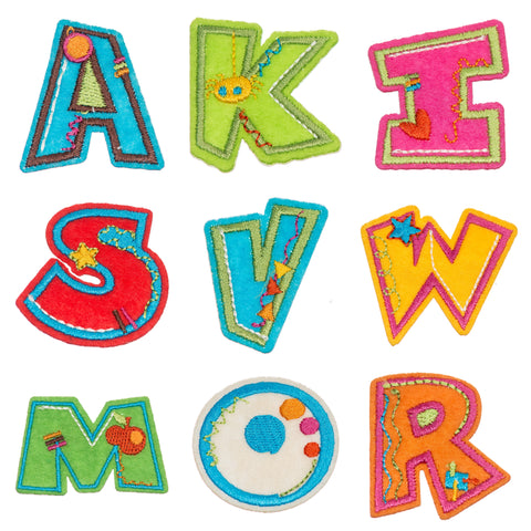 Alphabet Motifs - Iron or Sew On