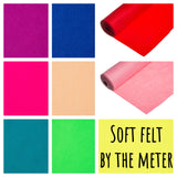 Super Soft 100% Acrylic Craft Felt by the meter