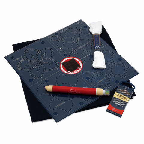 Sashiko Starter Kit- Cushion Cover