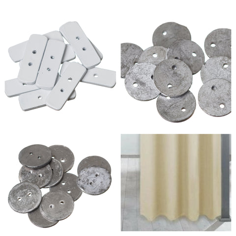 Curtain Penny Weights x 10