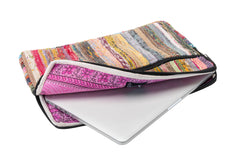 Recycled Sari Laptop case