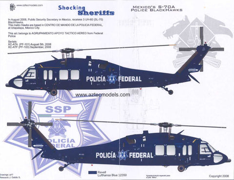 D-032 Mexican UH-60 BlackHawk