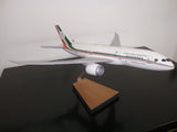 Boeing 787-8 Mexican Presidential Plane woodcraft desktop model