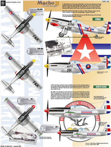 D-030 Mustang P-51. Latinamerica Part 2