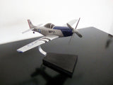 P-51D Mustang woodcraft desktop model