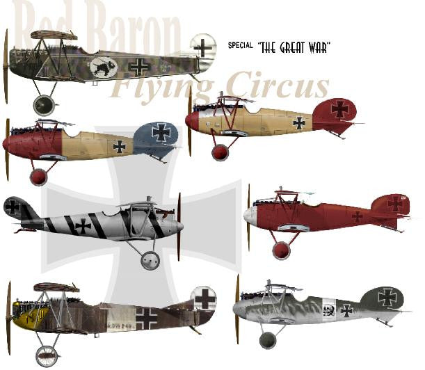 D-026 WWI. Red Baron Circus