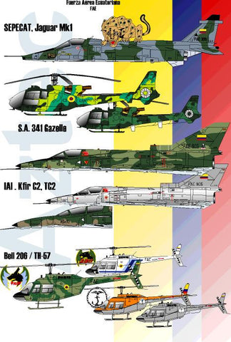 D-004.  Ecuadorian Air Force. Part 1