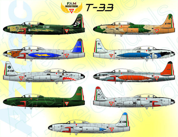 D31 Fam T 33 Decal Aztec Models