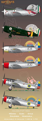D-044  Latinamerican P-47. Juicy Jugs I